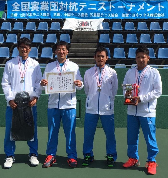実業団テニス全国大会