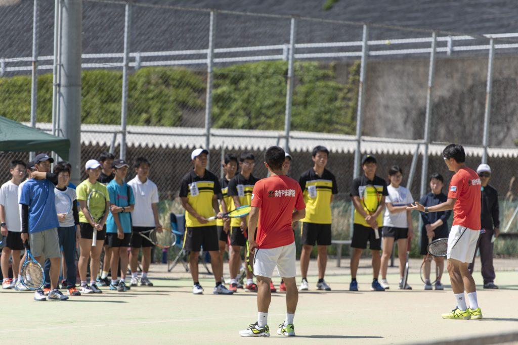 テニス教室 2019年4月 講習