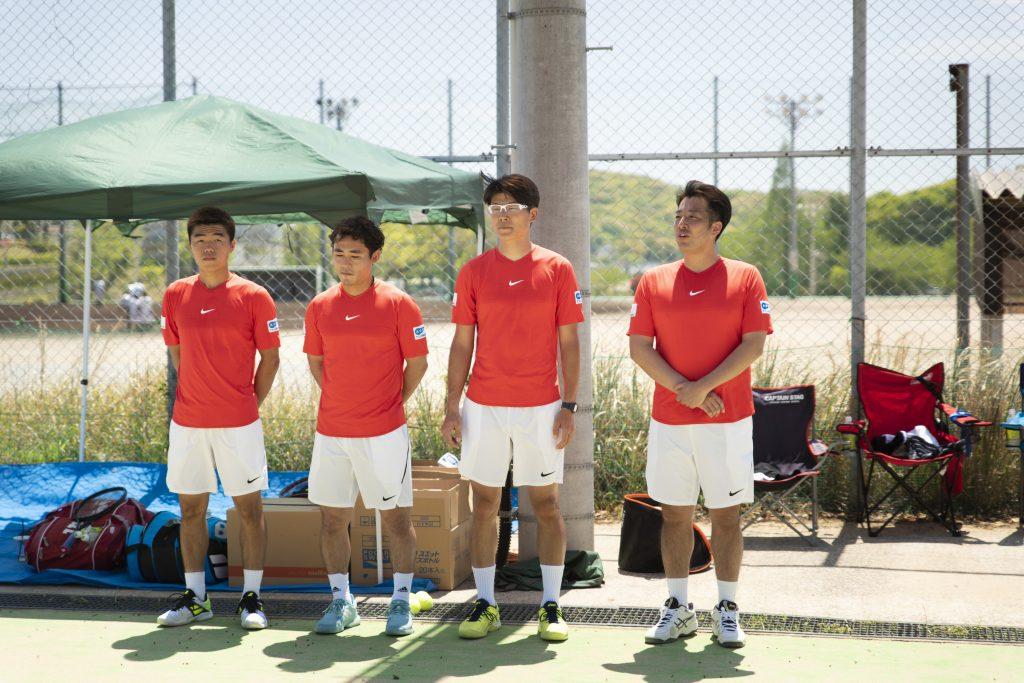 テニス教室 参加選手