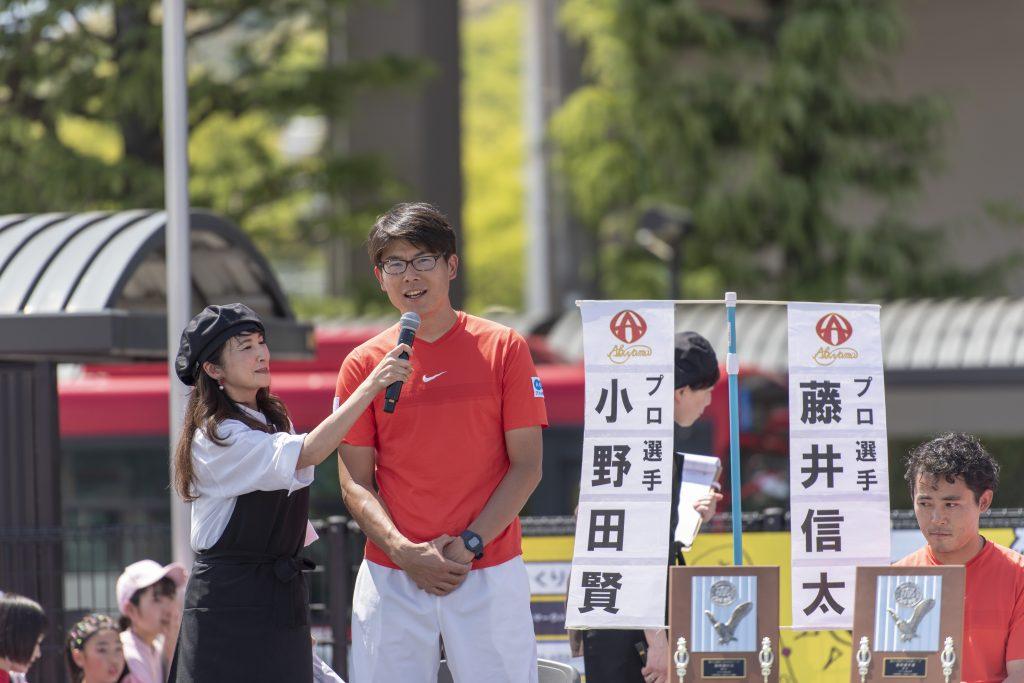 諫早グルメフェスティバル 第33回テニス日本リーグの結果報告と個人表彰5