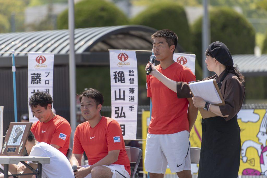 諫早グルメフェスティバル 第33回テニス日本リーグの結果報告と個人表彰4
